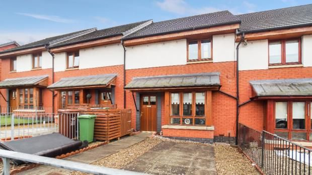 Thumbnail Terraced house for sale in Oronsay Road, Airdrie