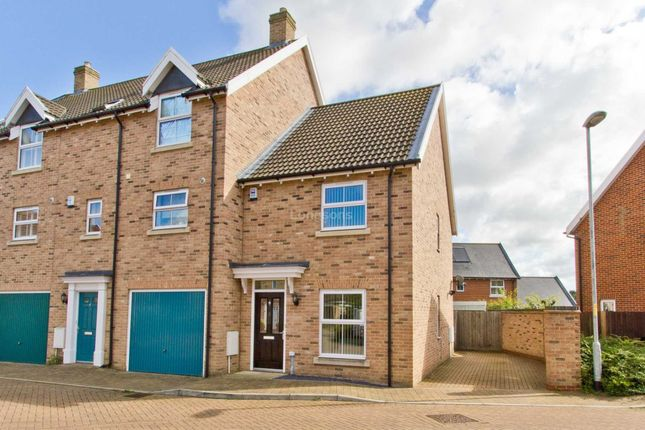 Thumbnail End terrace house for sale in Sir Archdale Road, Swaffham
