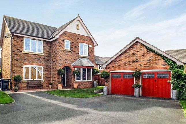 Thumbnail Detached house for sale in Kirkharle Drive, Pegswood, Morpeth