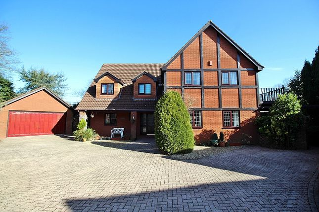 Thumbnail Detached house for sale in The Paddocks, Groesfaen, Pontyclun, Rhondda, Cynon, Taff.