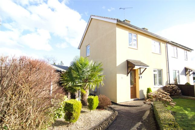 Thumbnail Semi-detached house for sale in Berkeley Close, South Cerney, Cirencester, Glos