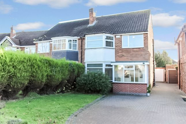 Thumbnail Semi-detached house for sale in Moxhull Road, Kingshurst, Birmingham