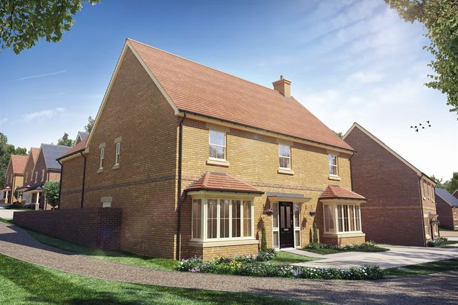 Thumbnail Detached house for sale in Bewick Green, Wing, Leighton Buzzard