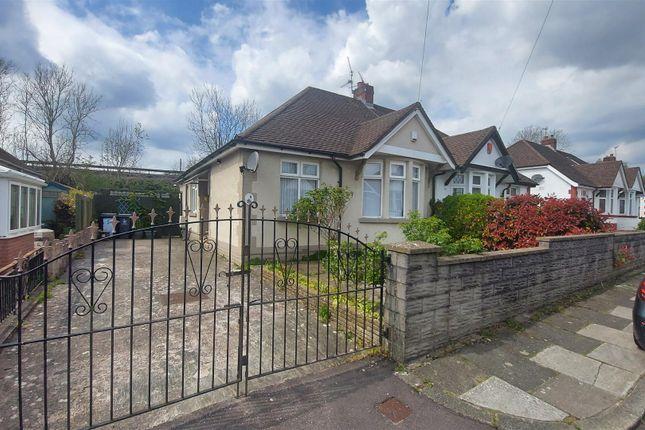Thumbnail Semi-detached bungalow for sale in Fairfield Close, Victoria Park, Cardiff