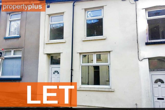 Thumbnail Terraced house to rent in Tylorstown -, Ferndale