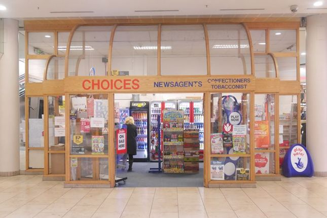 Retail premises for sale in Choices Newsagents, Lower Qube, Intu Metrocentre, Gateshead