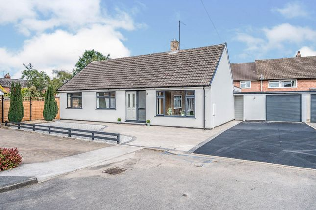 Thumbnail Detached bungalow for sale in Sollars Close, Hereford