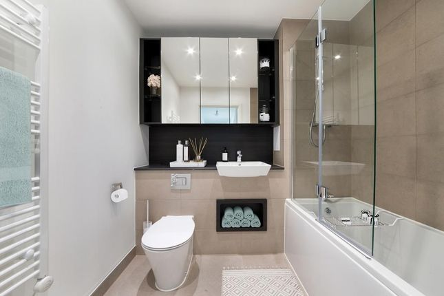 """Bathroom of """"Brooklime Apartments"""" at Bittacy Hill, London NW7"""