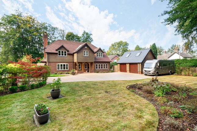 Thumbnail Detached house for sale in Lyndhurst Road, Landford, Salisbury, Wiltshire