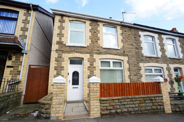 Thumbnail End terrace house for sale in John Street, Cwmcarn, Newport