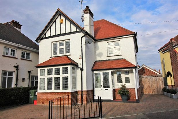Thumbnail Detached house for sale in Holland Road, Holland-On-Sea, Clacton-On-Sea