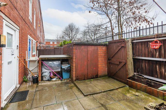 Front Garden of Dean Close, London E9