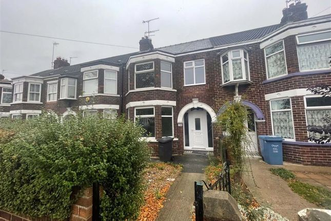 Thumbnail Terraced house to rent in Priory Road, Hull