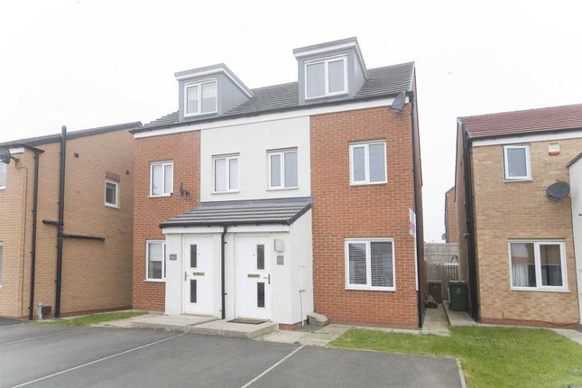 3 bed semi-detached house for sale in Rosebay Close, Hartlepool TS26