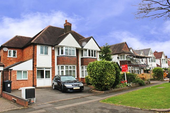 Thumbnail Semi-detached house to rent in Etwall Road, Hall Green, Birmingham