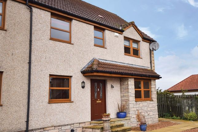 Thumbnail Semi-detached house for sale in Bishops View, Gairneybridge, Kinross, Perthshire