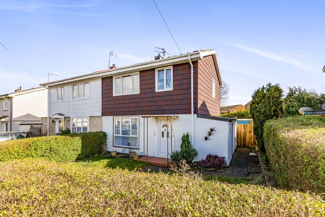 Thumbnail Semi-detached house for sale in Willow Brook Road, Lodge Park, Corby