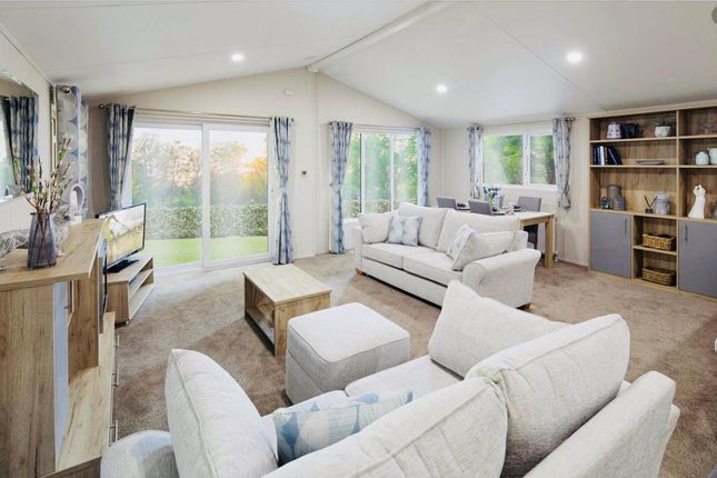 2 bed detached house for sale in Silverhill Holiday Park, Lutton Gowts, Lincolnshire PE12