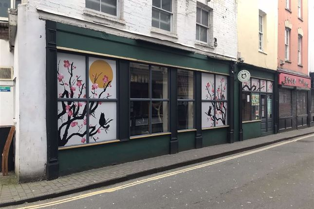 Thumbnail Restaurant/cafe to let in Denmark Street, Bristol, Bristol