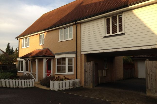 Thumbnail Link-detached house for sale in Bullock Wood Close, Colchester, Essex