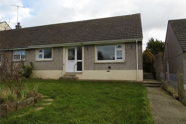 Thumbnail Semi-detached bungalow to rent in Chapel Road, Dwrbach, Fishguard, Pembrokeshire