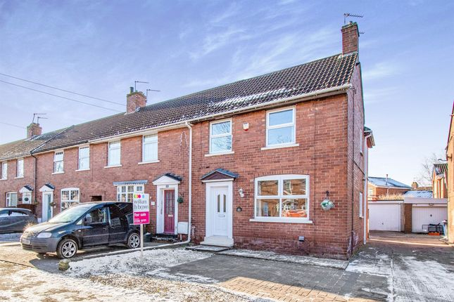 Thumbnail End terrace house for sale in Eccleston Road, Kirk Sandall, Doncaster