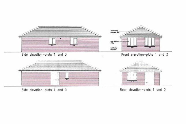Thumbnail Detached bungalow for sale in Plough Bank, Station Road, Weston Rhyn, Oswestry