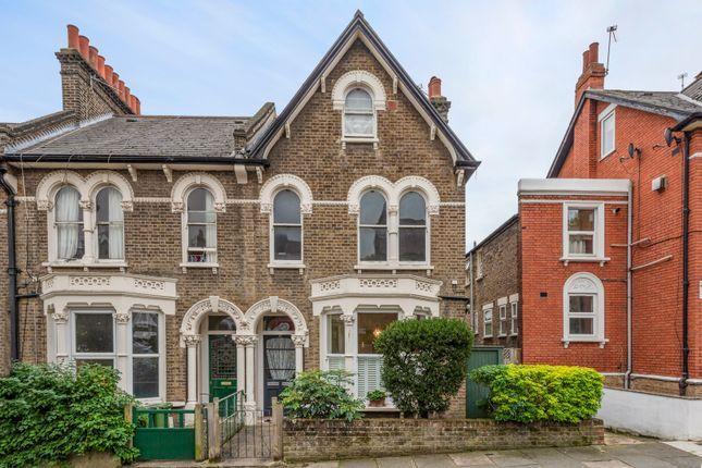 Thumbnail Flat for sale in Algiers Road, London