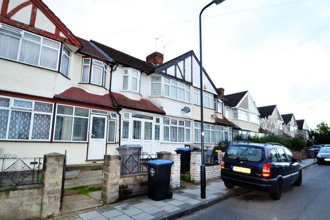 Thumbnail Terraced house to rent in Rowley Close, Wembley
