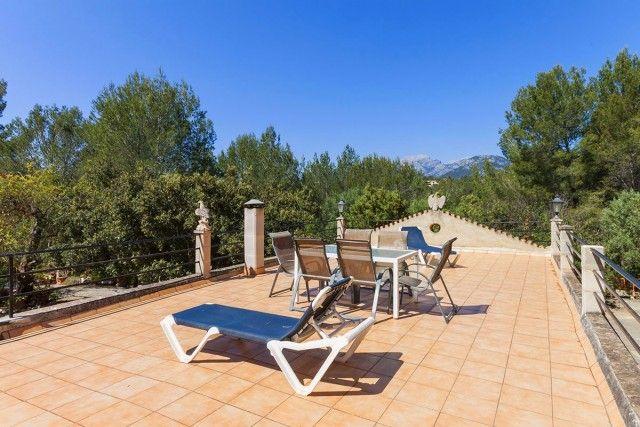 Terrace of Spain, Mallorca, Campanet