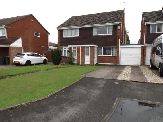 Thumbnail Semi-detached house for sale in Cranleigh Close, Sneyd Park, Willenhall, West Midlands