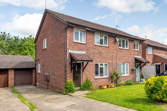 Thumbnail Semi-detached house for sale in Fitzjohn Close, Guildford