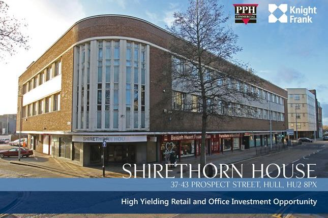 Thumbnail Commercial property for sale in Shirethorn House, 37-43 Prospect Street, Hull