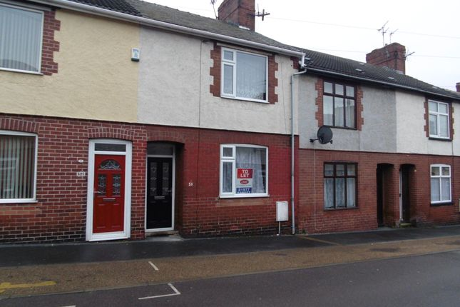 Thumbnail Terraced house to rent in Wesley Street, Pontefract