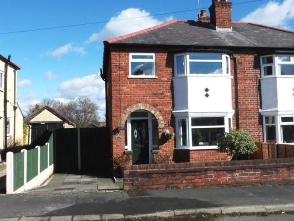 Thumbnail Semi-detached house for sale in Keristal Avenue, Great Boughton, Chester, Cheshire
