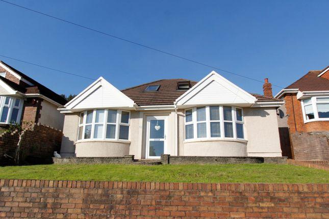 Thumbnail Detached bungalow for sale in Gwar Y Caeau, Port Talbot