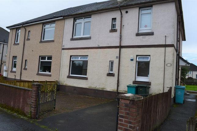 Thumbnail Flat for sale in Burnhall Place., Wishaw