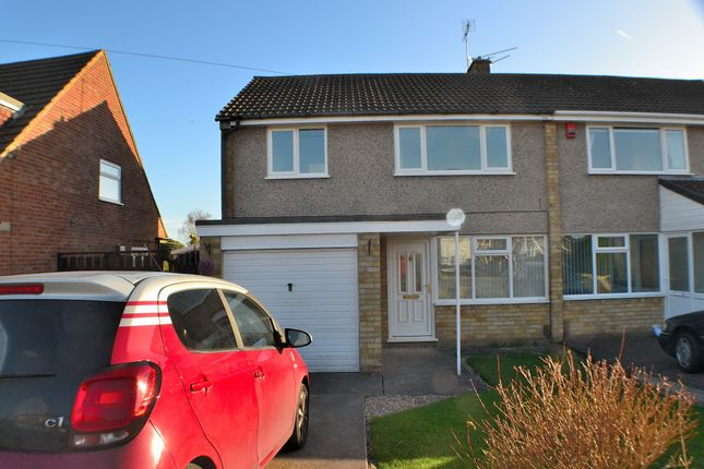 Thumbnail Semi-detached house to rent in Buxton Drive, Mickleover, Derby
