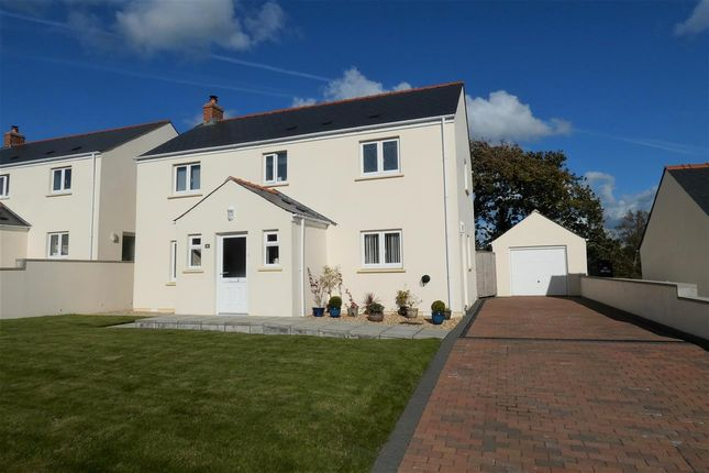 4 bed detached house for sale in Leven Close, Hook, Haverfordwest SA62