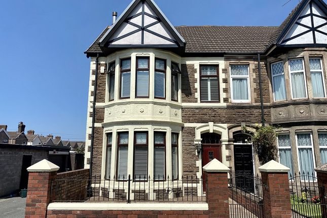 Thumbnail Semi-detached house for sale in Theodore Road, Port Talbot, Neath Port Talbot.