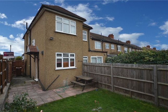 Thumbnail End terrace house to rent in Bessingby Road, Ruislip, Middlesex