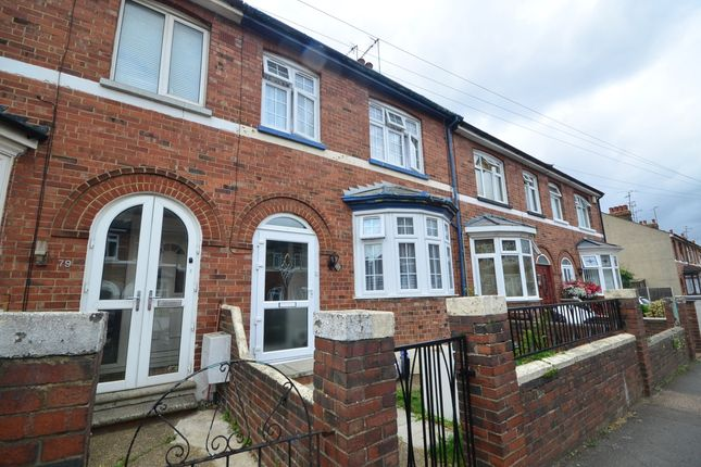 Thumbnail Terraced house to rent in Valley Road, Gillingham