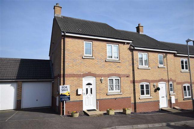 Thumbnail End terrace house for sale in Trafalgar Drive, Torrington