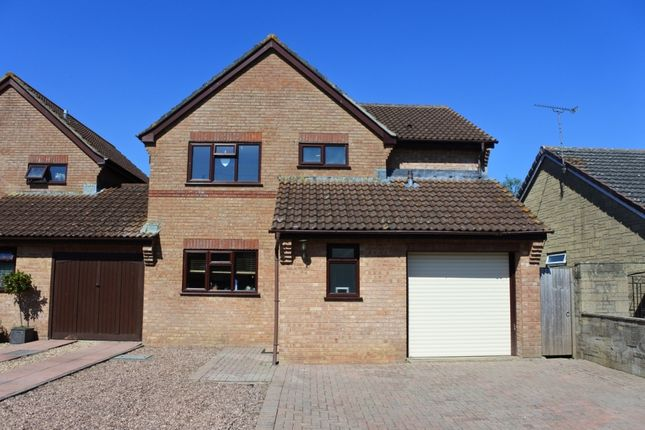 Thumbnail Detached house for sale in Broad Acres, Gillingham