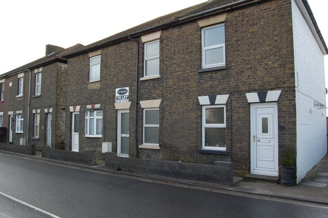 Thumbnail Terraced house to rent in Keycol Hill, Sittingbourne, Kent