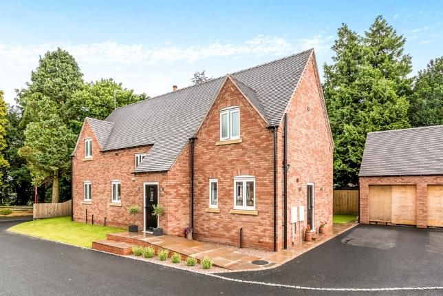Thumbnail Detached house for sale in The Orchard, Abbeylands, Weston, Stafford