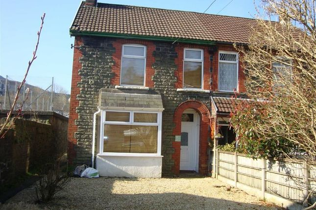Thumbnail Semi-detached house for sale in Wayne Street, Trehafod, Pontypridd