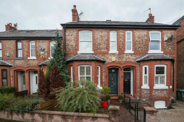 Thumbnail Terraced house for sale in Stamford Park Road, Altrincham