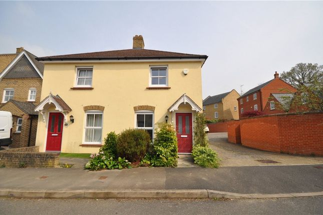 Thumbnail Semi-detached house for sale in Crofton Square, Sherfield-On-Loddon, Hook