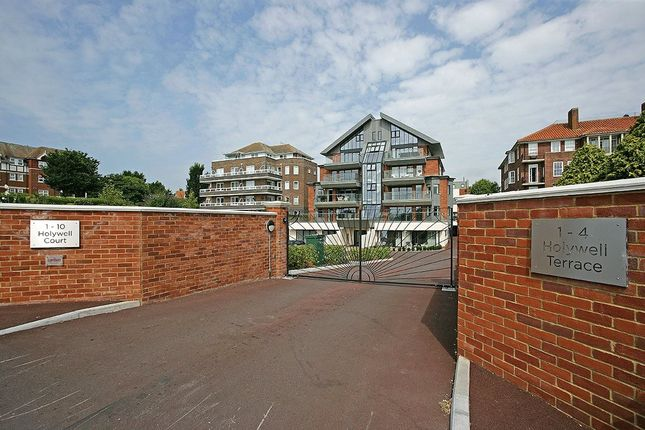 Thumbnail Flat for sale in Holywell Court, 30 King Edwards Parade, Eastbourne, East Sussex